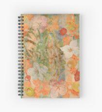 Tiki Flower Spiral Notebook