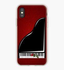 Vinilo o funda para iPhone Piano iPhone Case