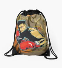 Keep Swinging! Drawstring Bag