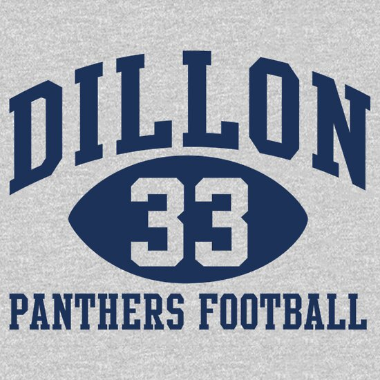 TShirtGifter presents: Dillon Panthers Football #33