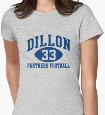 Dillon Panthers Football #33 Women's Fitted T-Shirt