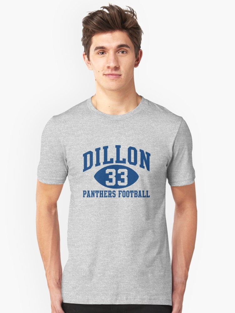 Dillon Panthers Football #33 Unisex T-Shirt Front