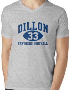 Dillon Panthers Football #33 Mens V-Neck T-Shirt