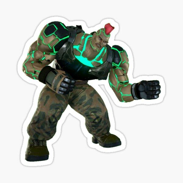 Tekken Jack-7 FC d/b+1 Sticker