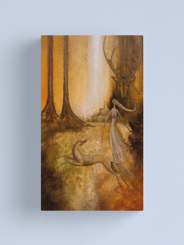 Alternate view of ARTEMIS AND ACTAEON Canvas Print