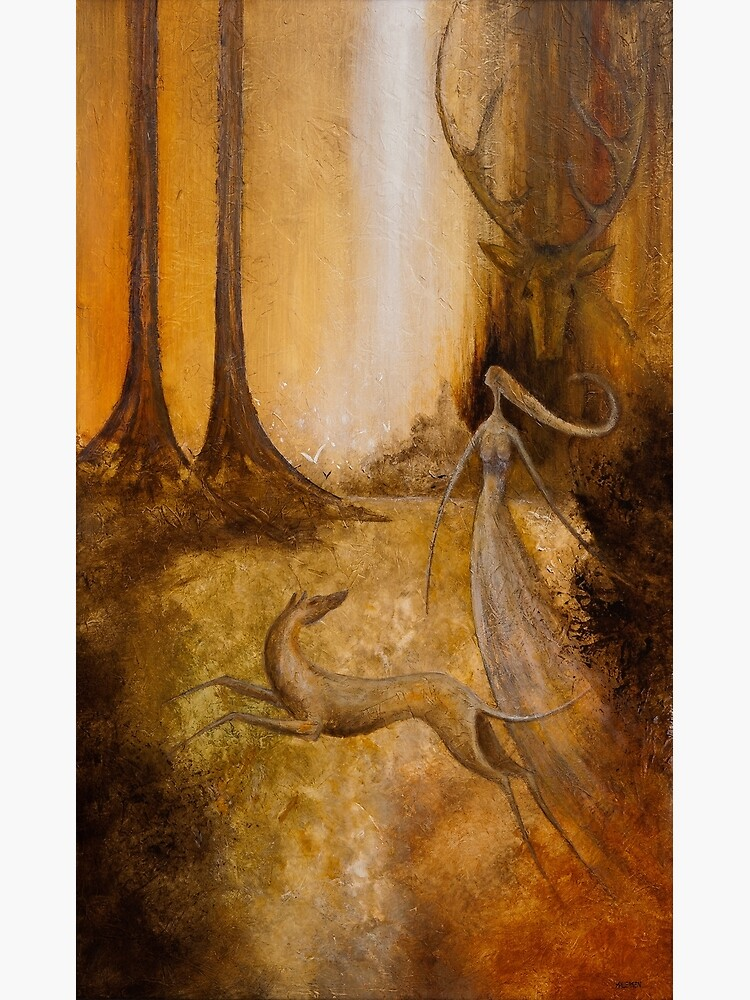 ARTEMIS AND ACTAEON by arttas
