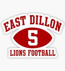 East Dillon Lions #5 Sticker