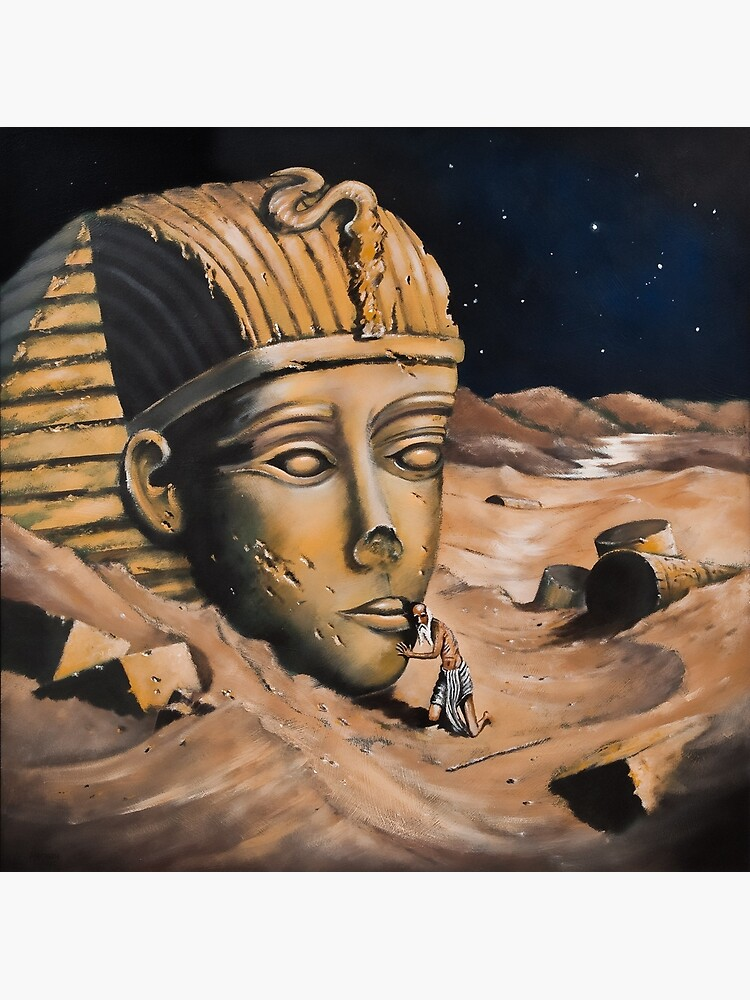 QUESTIONING THE SPHINX by arttas