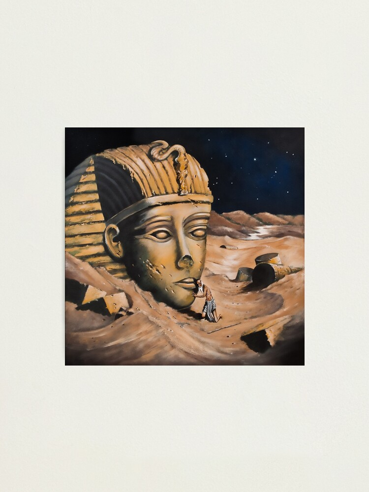 Alternate view of QUESTIONING THE SPHINX Photographic Print
