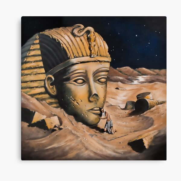 QUESTIONING THE SPHINX Canvas Print