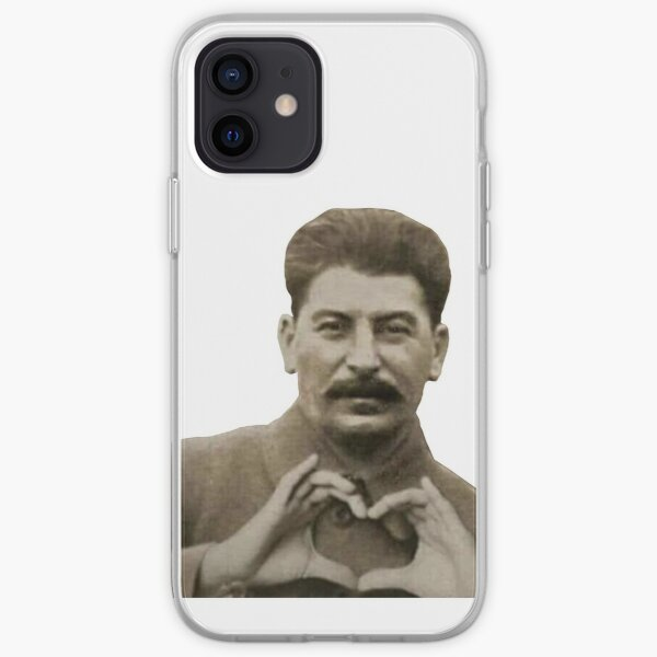 Stalin Heart Hands iPhone Soft Case