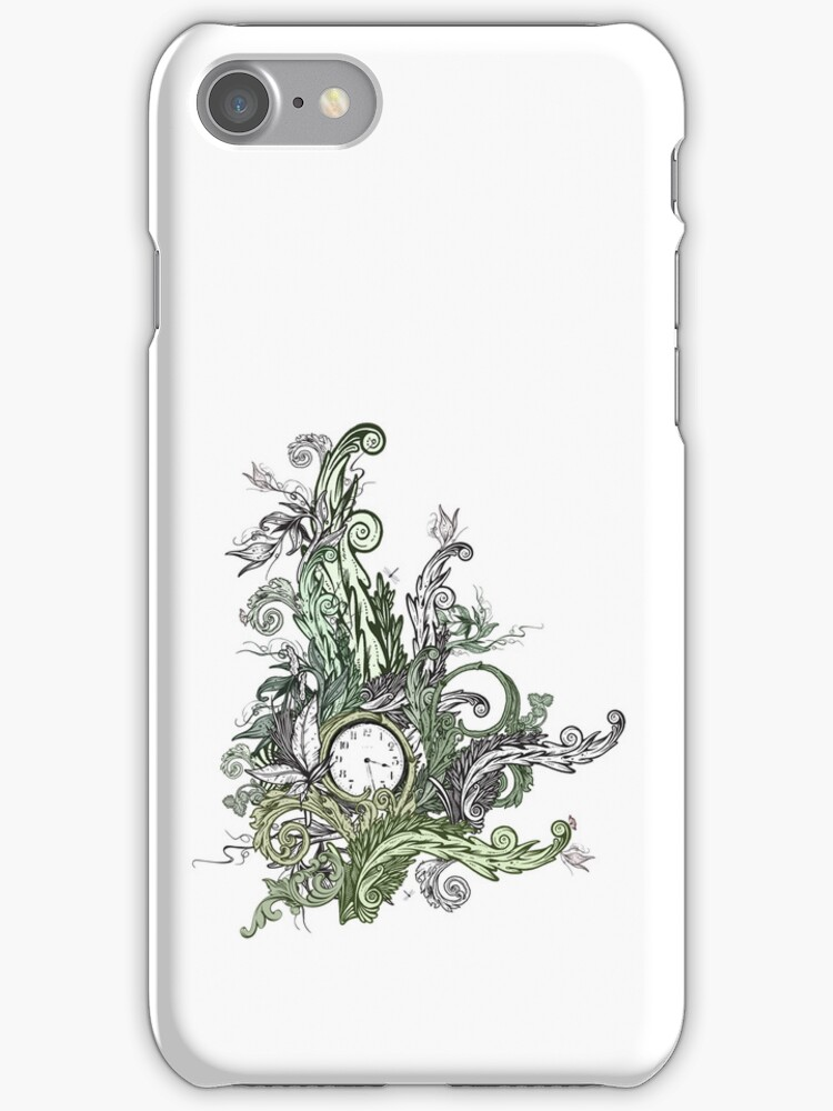 Lost Time iPhone Case by Carrie Jackson