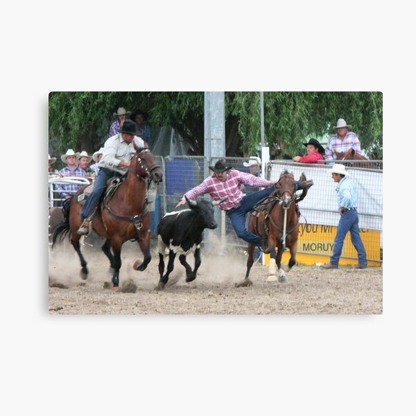 Moruya Rodeo New Years Day 2010 Canvas Print