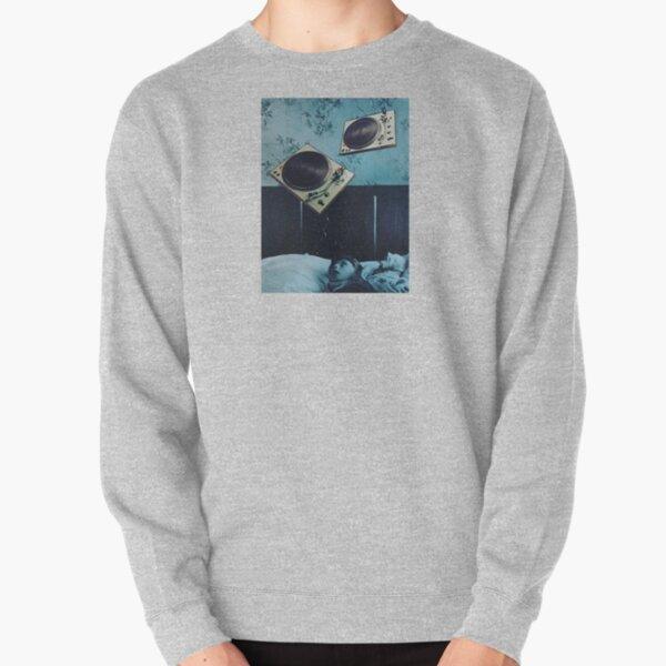 turntable nightmare Pullover Sweatshirt