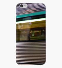 Trains Go By iPhone Case