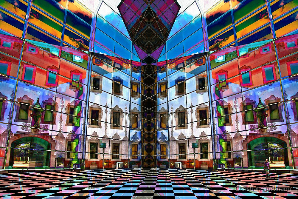 Juxtaposition 1 by Christian Hartmann