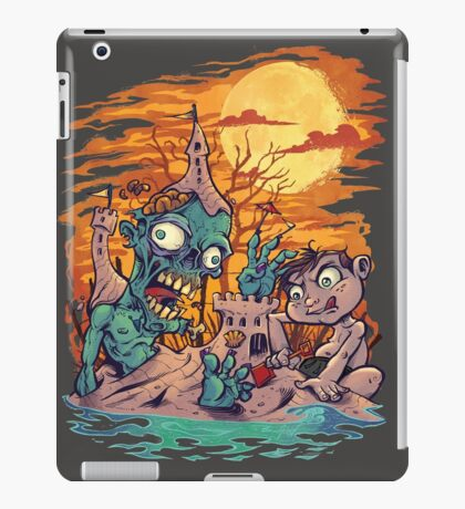 Zombie At The Beach  iPad Case/Skin