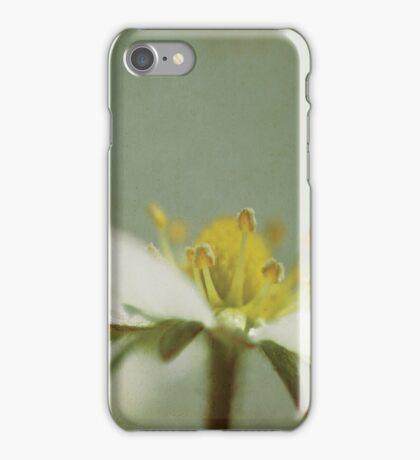 Strawberry flower iPhone Case/Skin