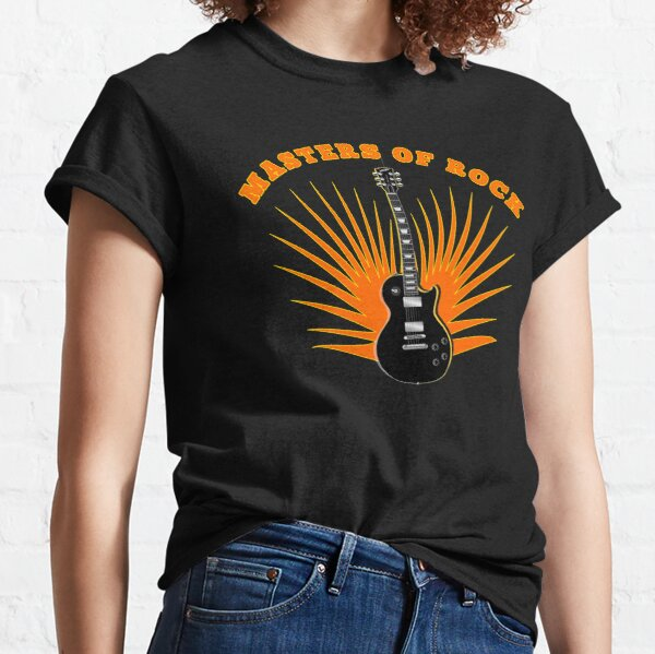 Rock Music Tribute Design for Music Lovers Classic T-Shirt