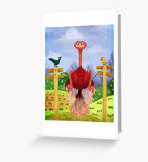 Fitting In Greeting Card