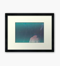 Reflective thoughts, Expired film. Framed Print