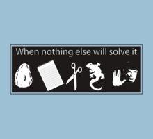 Rock. Paper. Scissors. Lizard. Spock!