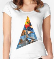 Eye to the Sky Women's Fitted Scoop T-Shirt