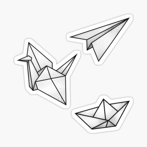Origami Sticker Pack Sticker