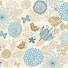 Floral Pattern by Nataliia-Ku