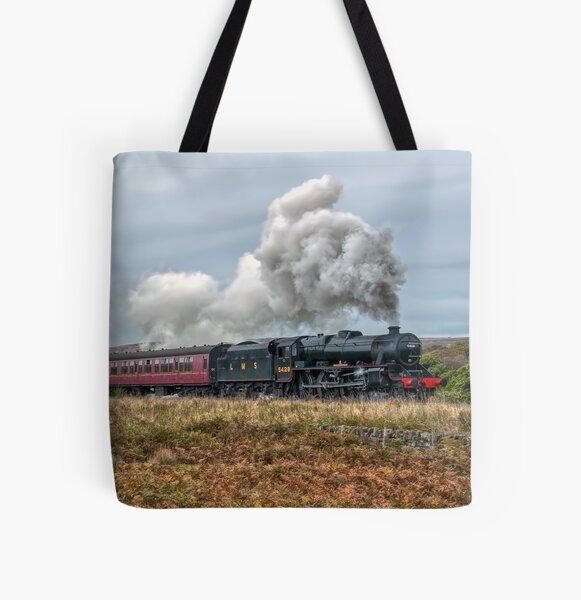 LMS Black Five 5428 All Over Print Tote Bag