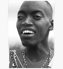 Maasai Warrior Poster