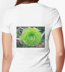 Monterey Aeonium  Women's Fitted T-Shirt