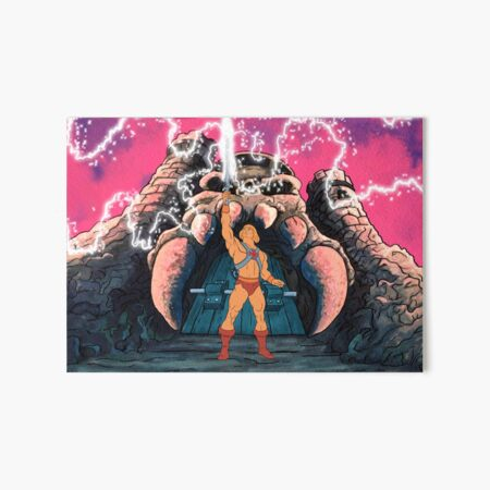 He-man Transform Tribute Art Board Print