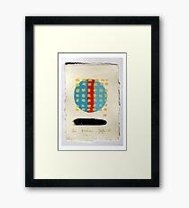 Receiver. (Screen Print - 2015) Framed Print