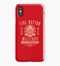 Avatar Fire Nation iPhone Case