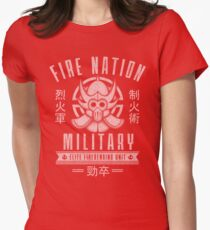 Avatar Fire Nation Women's Fitted T-Shirt