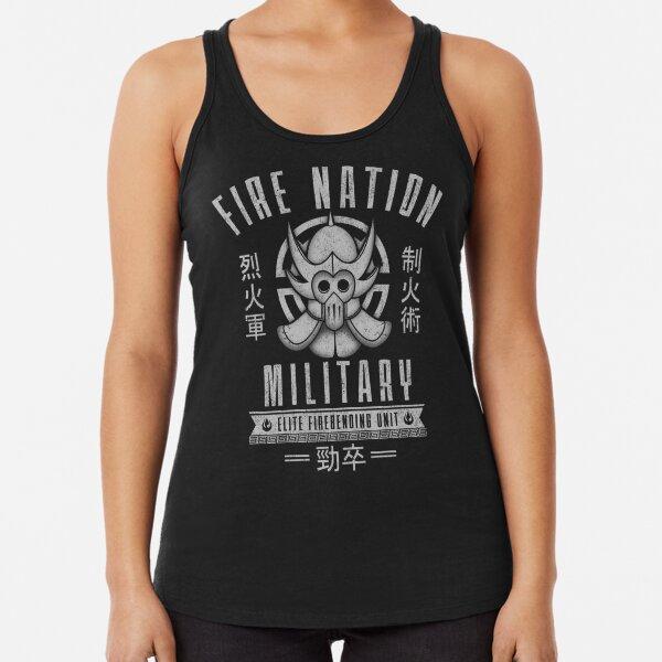 Avatar Fire Nation Racerback Tank Top
