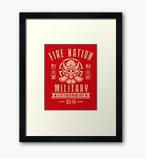 Avatar Fire Nation Framed Print