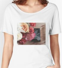 Flower Book Women's Relaxed Fit T-Shirt