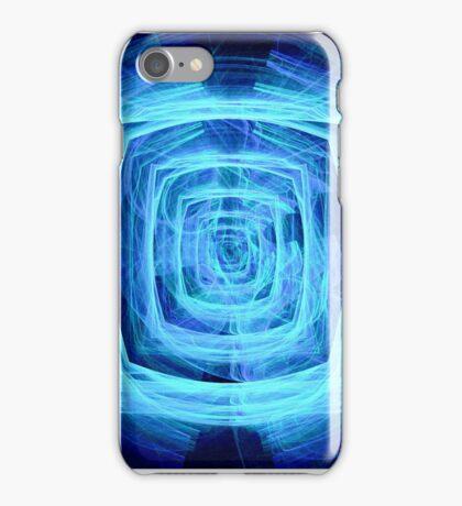 Blue Maze Fractal (iPhone Case) iPhone Case/Skin
