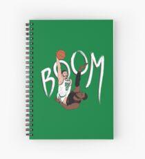 Tatum Booms LeBron Spiral Notebook