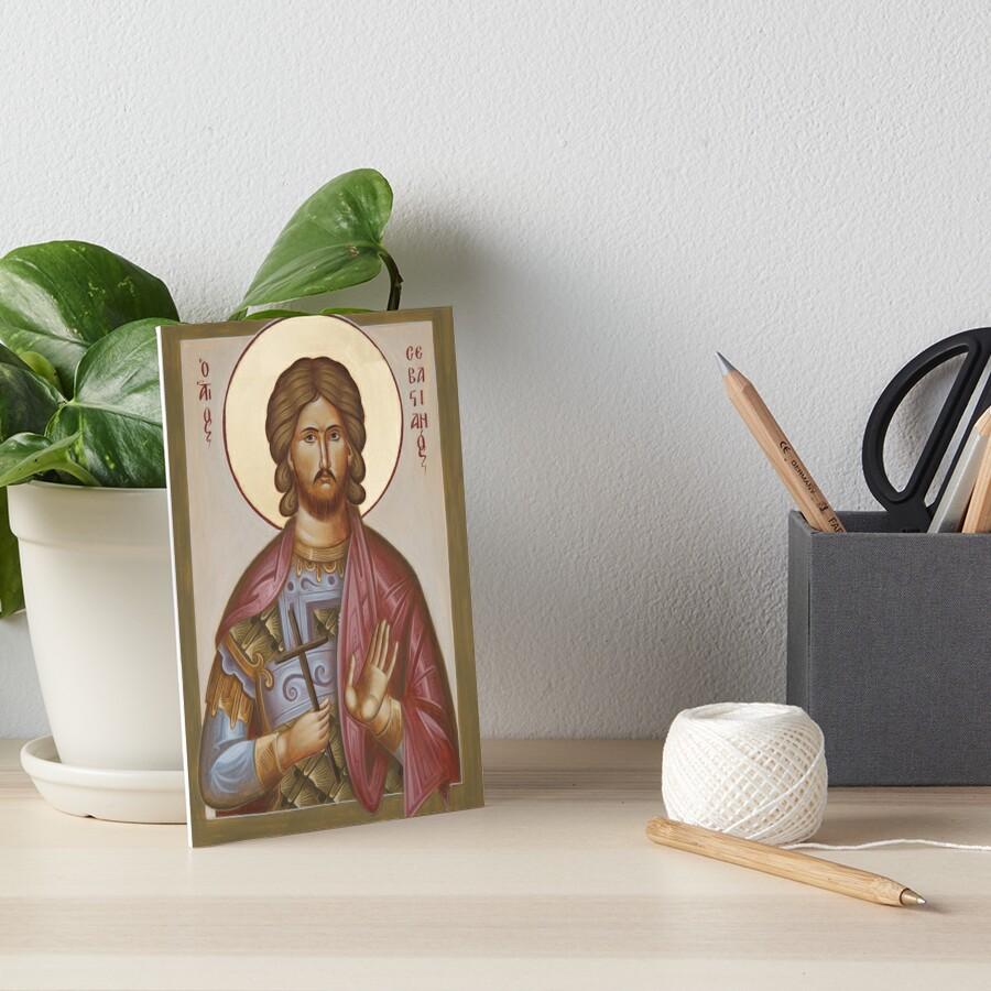 St Sebastian Art Board Print