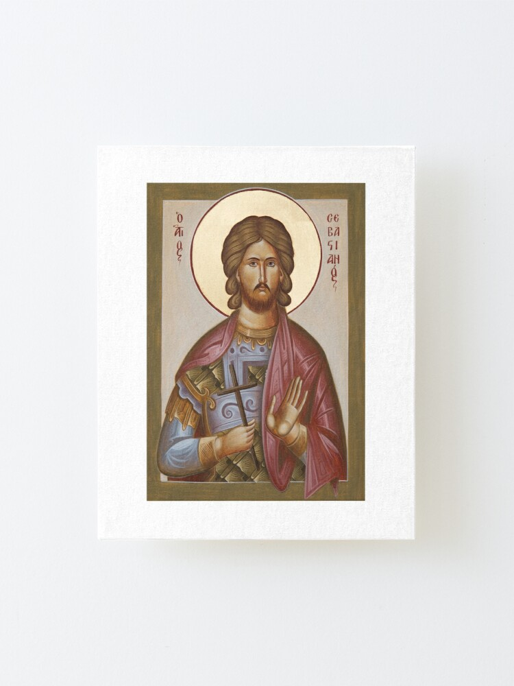 Alternate view of St Sebastian Mounted Print