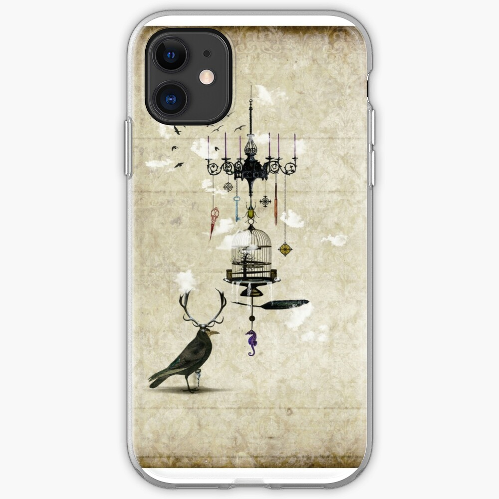 The Crow's Treasures iPhone Case & Cover