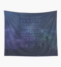 Simple Existence Wall Tapestry