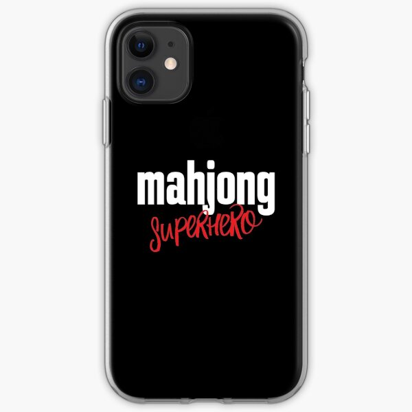 Mahjong Superhero iPhone Soft Case