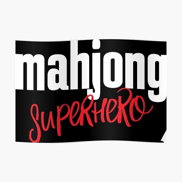Mahjong Superhero Poster