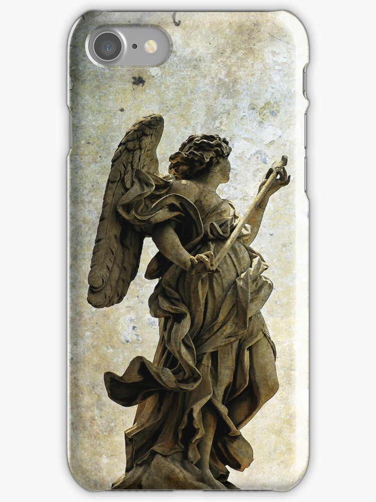iphone Angel in Rome by David Carton