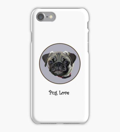 Pug Love (iPhone case) iPhone Case/Skin