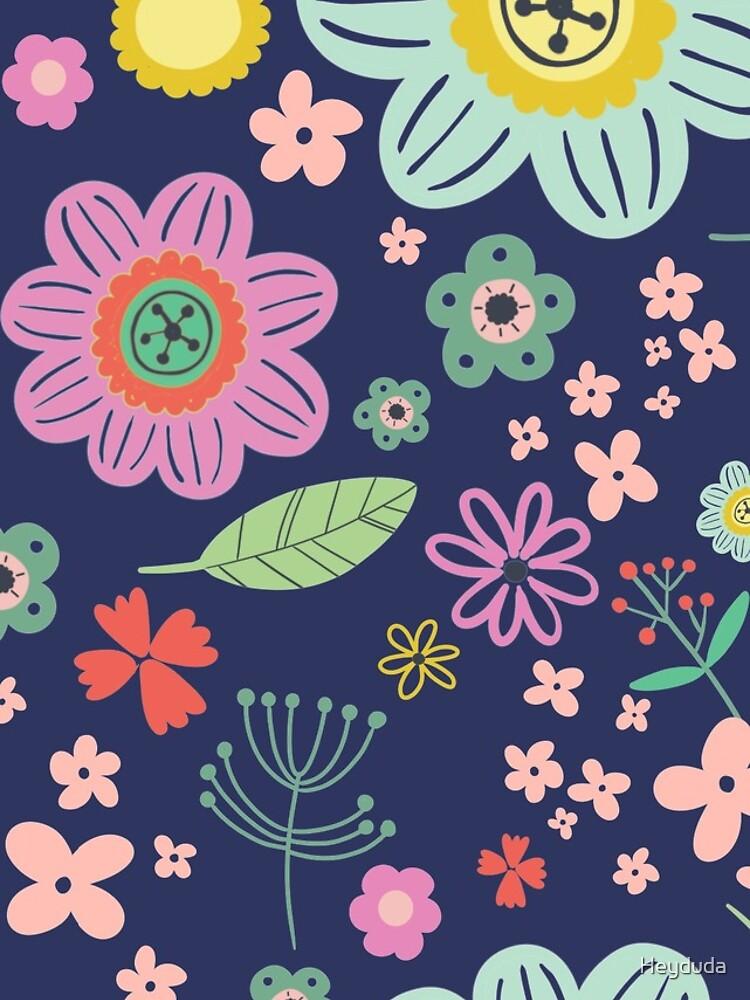 flower pattern by Heyduda